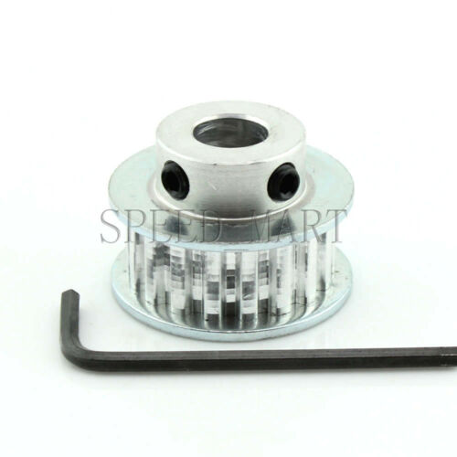 XL Type XL18T Aluminum Timing Belt Pulley 18 Teeth 12mm Bore for Stepper Motor