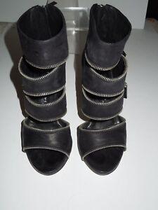 Euc fermeture noir AmalfiBottines en Latitude éclair Femme 38 à cuir Italie xCeBordW