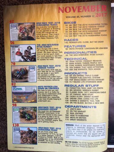 Motocross Action magazine; motorcycle magazines back issues 2001 onwards