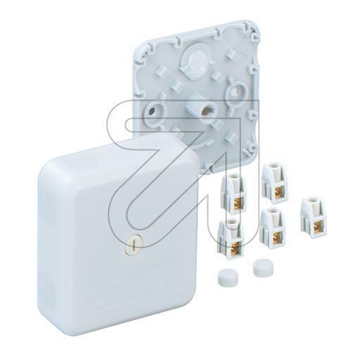 Abzweigkasten Spelsberg AP 7-2,5 IP30 weiß Klemmenkästen Kunststoff