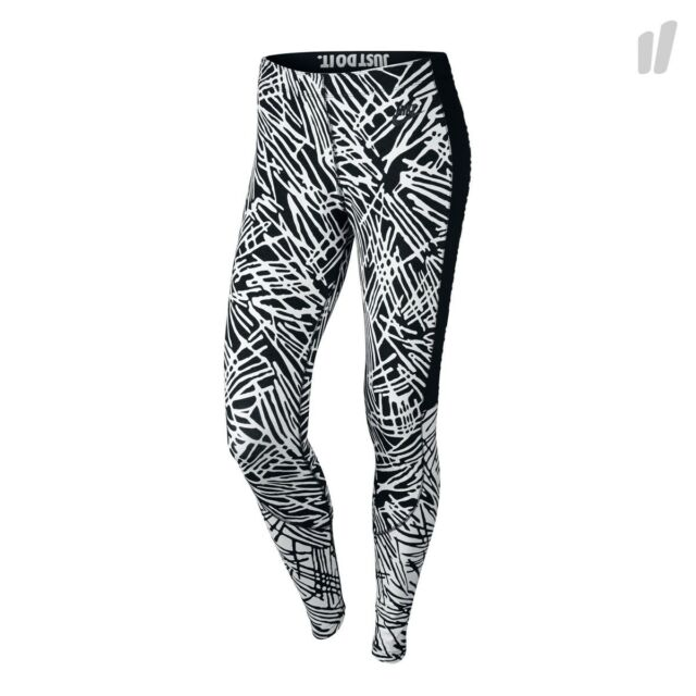 sale retailer c079a 52d13 Nike sz S Women s Leg-A-See Printed Tights NEW 739967 010 Black