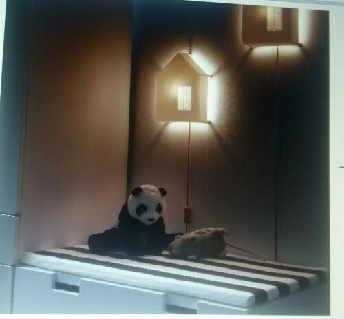 IKEA CHILDREN WALL LIGHT HOUSE WHITE