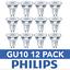 DEL-GU10-Ampoules-a-economie-d-039-energie-Ampoules-Spotlight-Lampe-Bon-etat-Ampoules-Philips miniature 7
