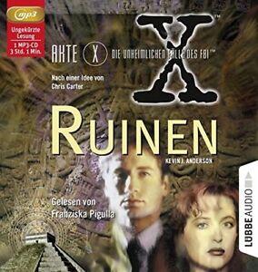 KEVIN-J-ANDERSON-AKTE-X-DIE-UNHEIMLICHEN-FALLE-DES-FBI-RUINEN-MP3-CD-NEW