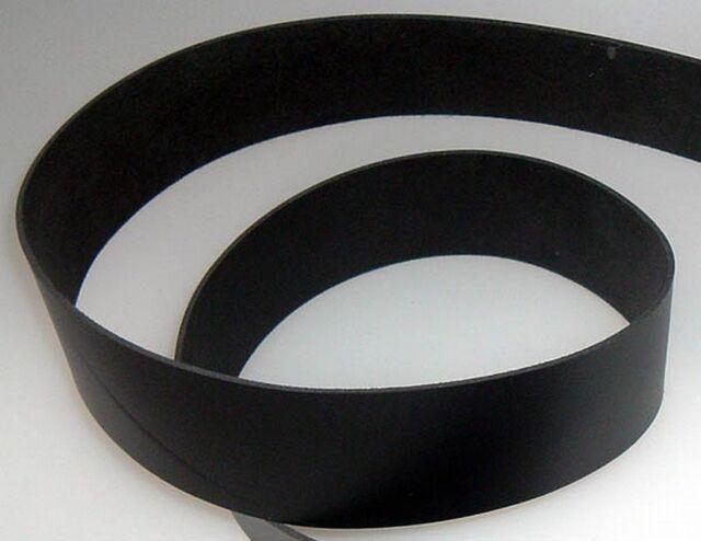 Lederriemen Gürtelleder-Riemen  schwarz 2,0 bis 10,0 cm breit bauen basteln wow