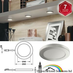 Loox-LED-2050-Downlight-12V-65mm-IP20-Flat-Surface-Mounted-Light-A-Efficiency