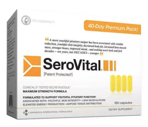 SeroVital-40-Day-Supply-Dietary-Supplement-160-count-NEW