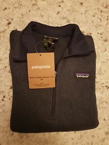 Navy Small Sweater Classic Zip Better Størrelse 1 Patagonia 4 Women's SB0wqC4Ox