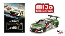 1//64 TSM MINI GT Acura Honda NSX GT3 Diecast Model Car Colors MGT Series
