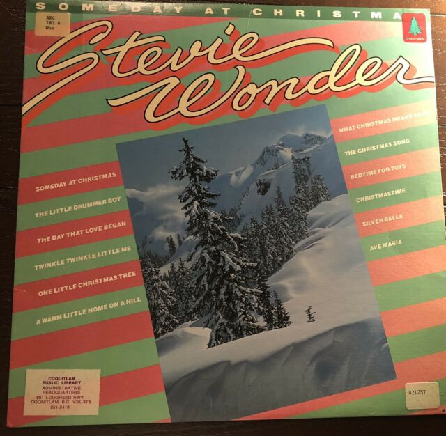 "Stevie Wonder Someday at Christmas 12"" Vinyl- Great ..."
