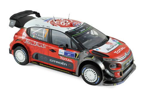 Norev Citroën C3 WRC 2017 1 18  7 Meeke   Nagle
