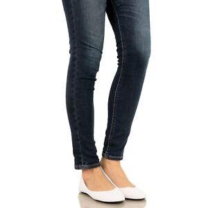 52b1c4ad1d2d0 West Blvd Womens BALLET Flats Slip On Shoes Ballerina Slippers White ...