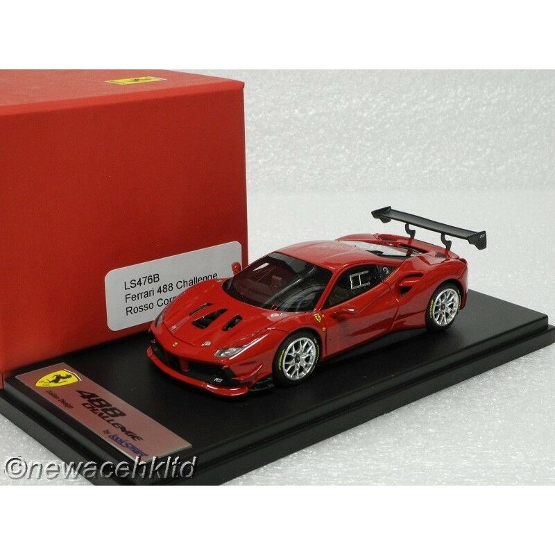 Ferrari 488 Challenge rouge Corsa Looksmart Modèle 1 43  LS476B