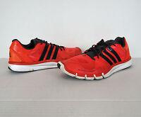 Adidas Adipure Techfit Red Black Running Shoes Mens 13 48 Training Athletics