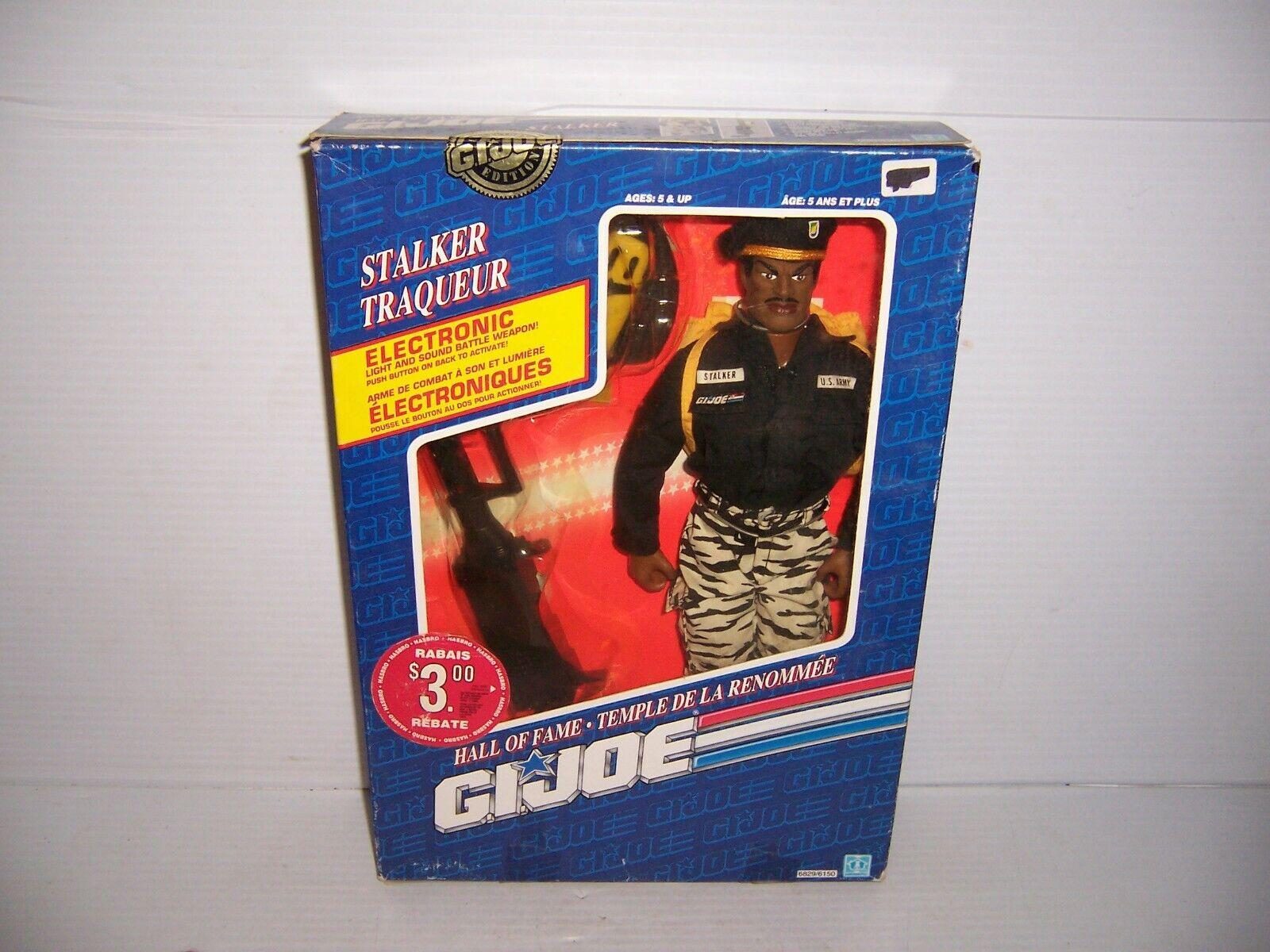 1992 Hasbro GI Joe Htutti of Fame  Collector's edizione Stalker 12  cifra  promozioni