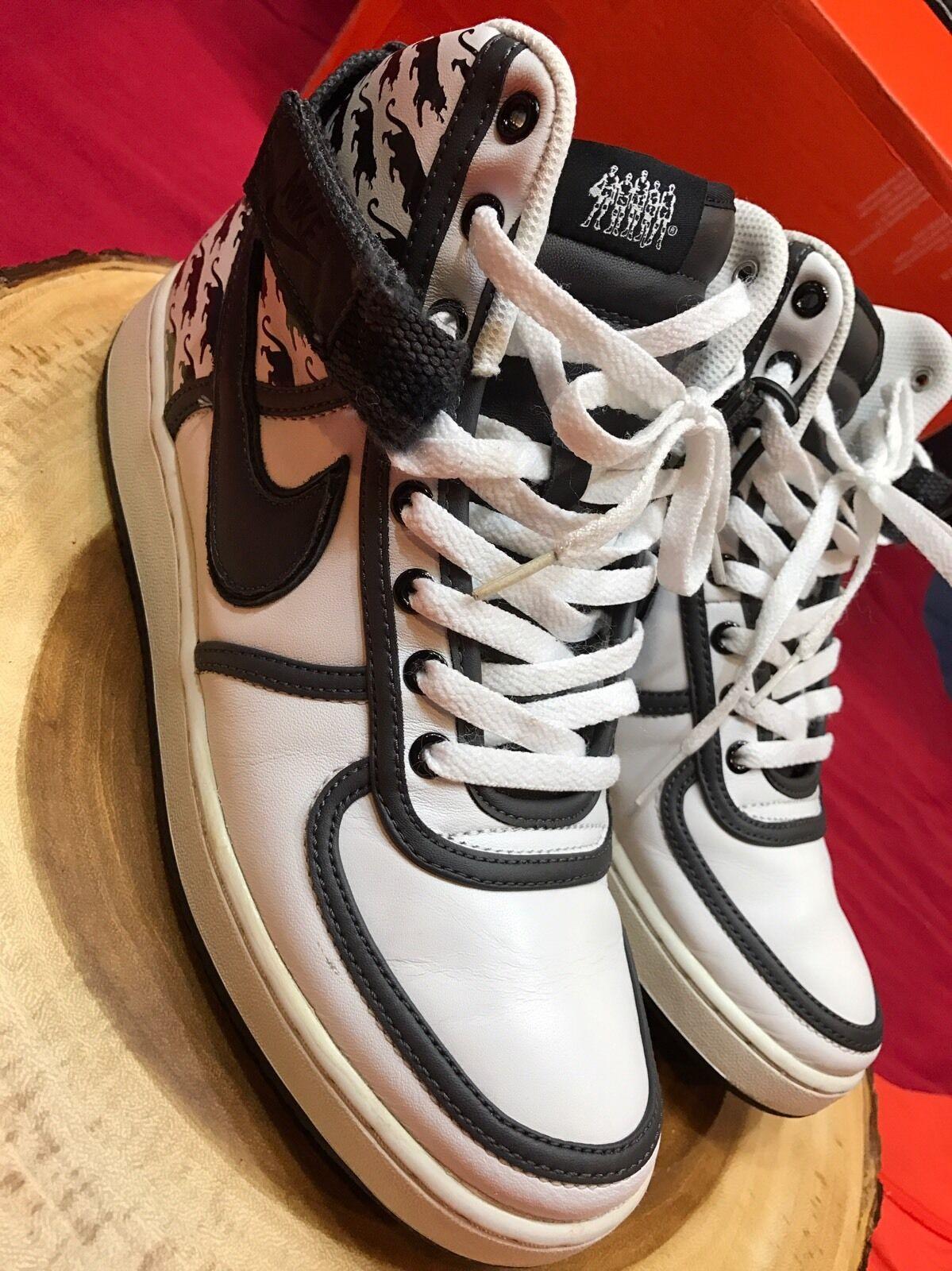 separation shoes 834b8 2ef47 ... Nike Vandal Vandal Vandal High Black White Size 9.5 Philadelphia Philly  Panthers Jordan BFIVE 501dc8 ...