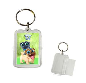 12 Disney Jr Puppy Dog Pals Key Chain Keychain Birthday Party Favor filler Gift