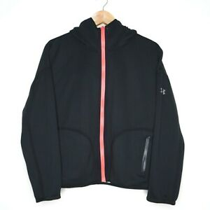 Under Armour Reversible Womens Black & Grey Hoodie Size Small