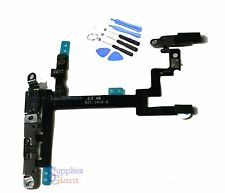 NEW iphone 5 Power Button Mute Switch Flex Cable Metal Bracket Assembly + Tools