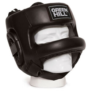 Boxing Helmet Castle Helmet Bar para Nose green hill sparring