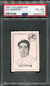 1950-Callahan-Hall-of-Fame-Joe-DiMaggio-PSA-EX-MT-6-Tough-Short-Print