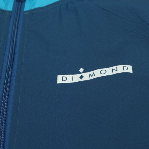 In Size Jacket White Diamond Windbreaker S Blue – Deco l ZnUFqS