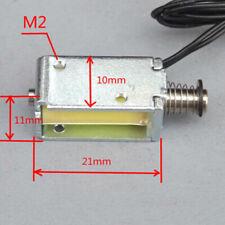 12v Dc Suction Micro Electromagnet Spring Push Pull Type Rod Solenoid Magnetn Sh