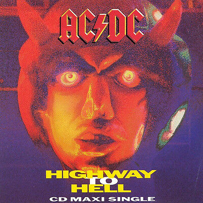 AC/DC CD Single HIGHWAY TO HELL inc rare live B sides