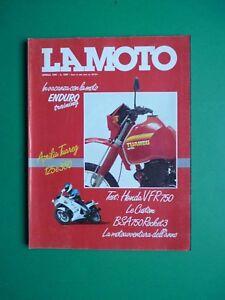 LA-MOTO-Aprile-1986-Honda-VRF-750-BSA-Rocket-3-Aprilia-Tuareg-125-350-Enduro