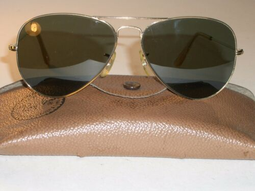 G15 14mm Arista Ray ban Usa Vintage Circa1960's 58 Larme THSn6vS