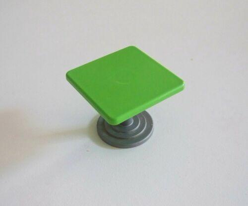 PLAYMOBIL AEROPORT Table Verte Pied Gris 3186 C405