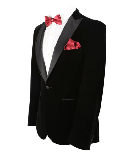 Paul Andrew da Uomo Ragazzi Vintage Velluto Blazer Formale Matrimonio Sposi Prom