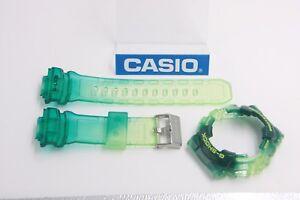 CASIO-G-Shock-GAX-100MSA-3-G-Lide-Jelly-Green-X-Large-BAND-amp-BEZEL-Combo-GAX-100