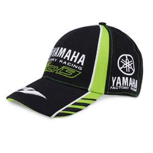 la moitié d4aa8 8d9d1 Détails sur Yamaha Tech 3 Produit Officiel Adulte Moto Sport Automobile  Casquette Baseball