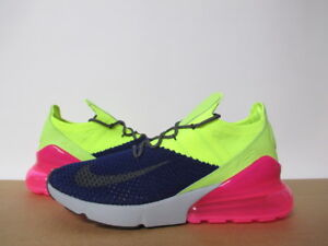 check out f93b4 01df7 Details about NIKE AIR MAX 270 FLYKNIT REGENCY PURPLE THUNDER GREY PINK SZ  8-14