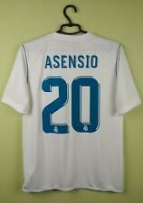 16bcc9da2e6 adidas Marco Asensio Real Madrid Youth Jersey White 2017 18 home 15-16 years
