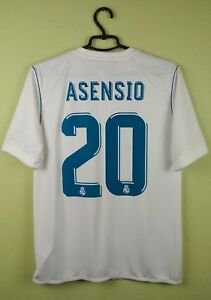 e5263ced835 adidas Marco Asensio Real Madrid Youth Jersey White 2017 18 home 15 ...