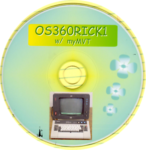 CD-OS360RICK1-from-CBT-with-myMVT-GUI-Distribution-and-Sysgen-for-IBM-OS360