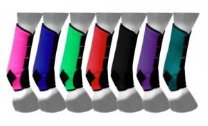 Showman Neopren Sport Stiefel für Vorder-Hinterbeine