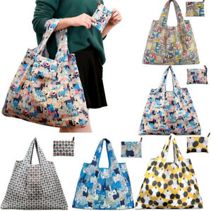 Image Is Loading Lot 5 Style Reusable Foldable Recycle Grocery Ping