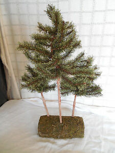 artificial pine trees christmas decor home decor 23 quot tall