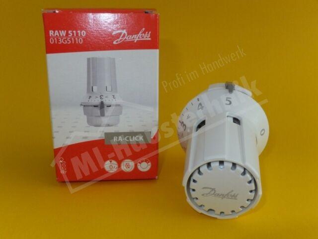 Danfoss Thermostatkopf RAW 5110 Fühlerelement mit Nullabsperrung 013G5110