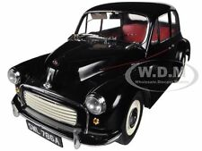 1965 MORRIS MINOR 1000 SALOON BLACK 1/12 DIECAST MODEL CAR BY SUNSTAR 4786