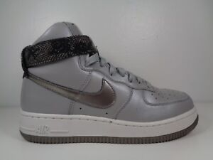 Women s Nike Air Force 1 High 334031 004 Metallic Silver size 7 ... 65fc0861f