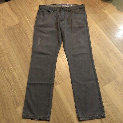 Men/'s DKNY Williamsburg Slim Jeans 34//34 Black Cotton//Polyester//Elastane