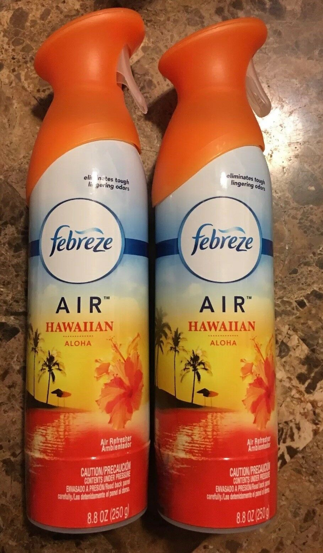 2x Febreze Air Freshener Hawaiian Aloha 8 8 Oz Each Ship Free For Sale Online