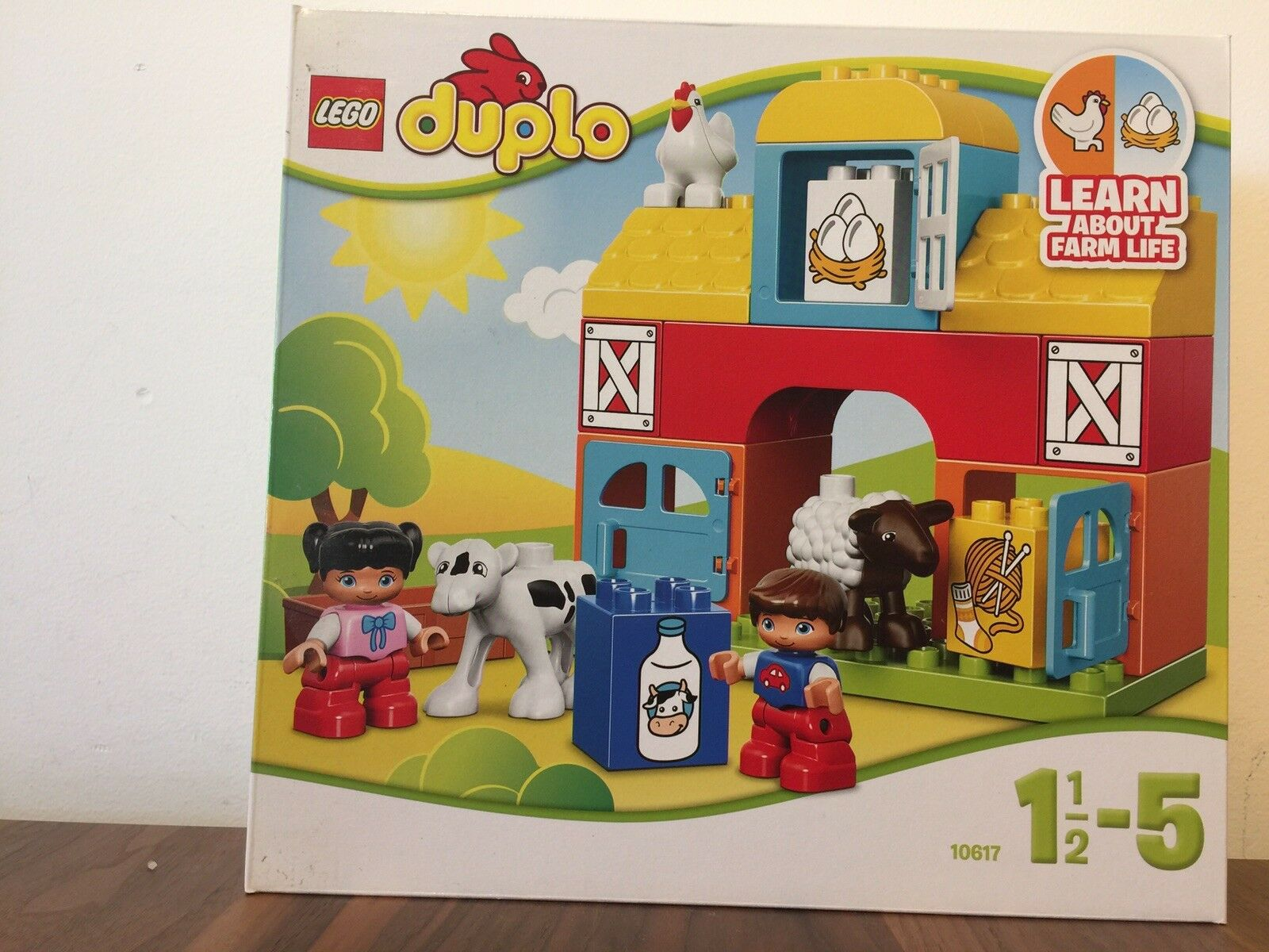 Lego Duplo My First Farm 10617 (Brand New Unopened) Recommended Age 1.5-5y
