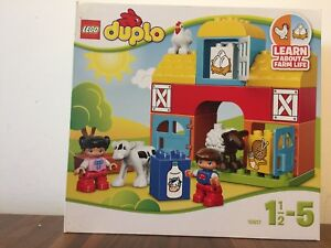 Lego-Duplo-My-First-Farm-10617-Brand-New-Unopened-Recommended-Age-1-5-5y