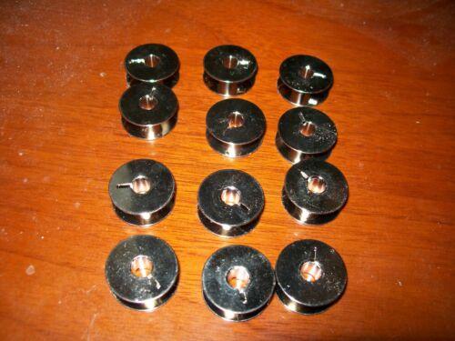 12 NEW BOBBINS FOR PFAFF MACHINES 9033