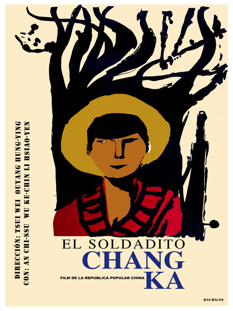 El Soldadito Chang Ka vintage Film POSTER.Graphic Design. Art Decoration.3100